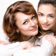 Mother and Teen Daughter — Stock Photo #48639233