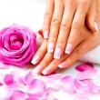 Manicure and Hands Spa. — Stock Photo #48639461