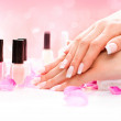 Manicure and Hands Spa — Stock Photo #48639539