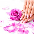 Manicure and Hands Spa. — Stock Photo #48639757