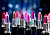 Fashion Colorful Lipsticks. — 图库照片