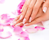 Manicure and Hands Spa. — Stock Photo