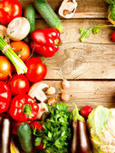 Healthy Organic Vegetables — Stock Photo