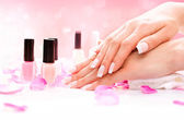 Manicure and Hands Spa — Stock Photo