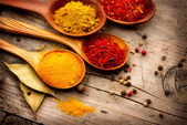 Various spices and herbs — Foto Stock
