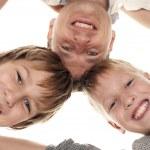 Happy family having fun — Stock Photo #12865760