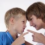 Children quarreling — Stock Photo #13206094
