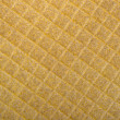 Yellow background structure of a rough fabric — Foto Stock