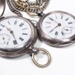 图库照片: Old pocket-watches