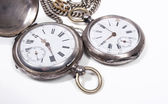 Old pocket-watches — Stock Photo