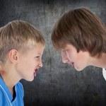 Children quarreling — Stock Photo #13763428