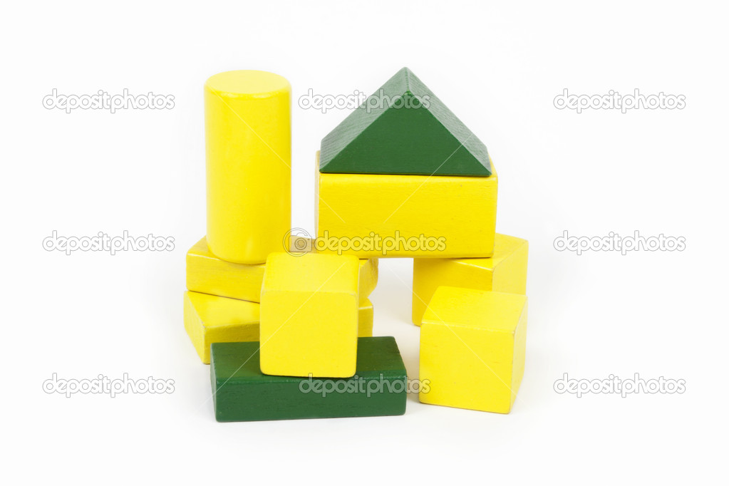 Wooden building blocks — Stock Photo #16943823