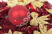 Xmas decoration background — Стоковое фото