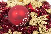 圣诞装饰背景 — 图库照片