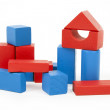 Stock Photo: Wooden building blocks