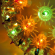 Decorative festive light — Stock Photo