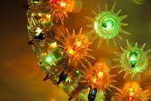 Decorative festive light — Stock Photo