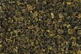Green leaves tea background — Stock Photo