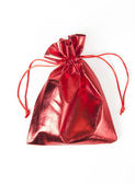 Red gift bag — Stock Photo