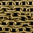 Gold chain background — Stok Fotoğraf #37853181