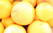 Grapefruits background — Stock Photo