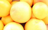 Grapefruits background — Stock Photo