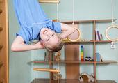 Boy in children room — Stock Photo
