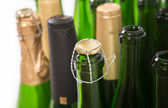 Bottles of champagne — Stock Photo