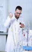 Male scientist — Stock Photo