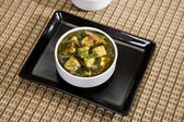 Spinach and Cheese Curry — Stock Photo