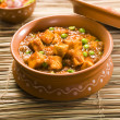 Stock Photo: Paneer Masalwith Peas