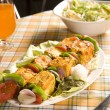 Grilled Cheese or Paneer Tikka — Stock Photo