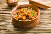 Paneer Masala with Peas — Stock Photo