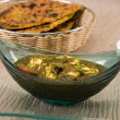 Palak Paneer or Spinach and Cheese, Indian Food — Stock Photo