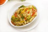 Vegetable Pasta — Stock Photo
