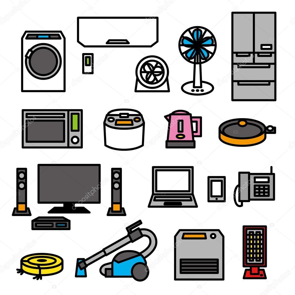 电器01 — 图库矢量图像08 niow #36820065