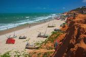 Canoa Quebrada Beach — Stock Photo