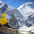 Hiking in Himalaya mountains — Stock Photo #15831761