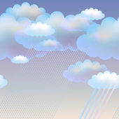 Cclouds — Stock Vector