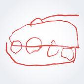 Vector tank — Stock Vector
