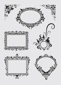 Swirl Ornaments 1 — Stock Vector