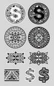 Swirl Ornaments 2 — Stock Vector