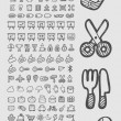 Useful Icons Sketch — Stock Vector #46375601