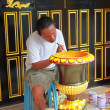 Stock Photo: Thai artisan