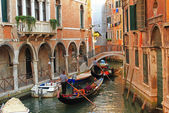 Gondolas, Venice — Stock Photo