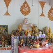 Stock Photo: Altar in Buddhist Temple