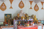 Altar in Buddhist Temple — Stock Photo