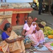 Stock Photo: Fruit sellers,Goa