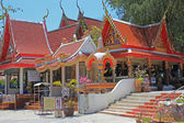 Wat Phra Yai temple, Koh Samui, Thailand — Stock Photo