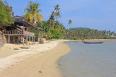 Tropical beach, Koh Samui, Thailand — Stock Photo